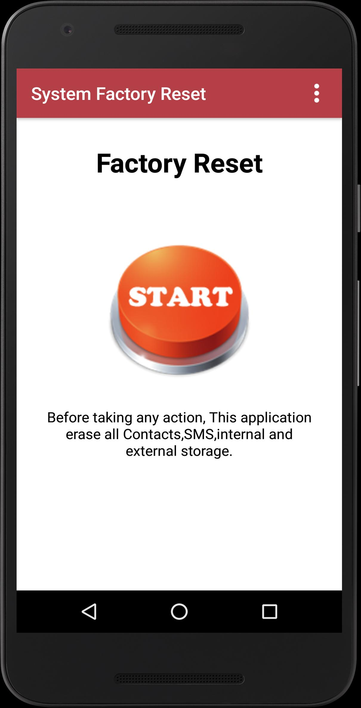 Reset Phone Mobile Full Factory Reset for Android - APK Download