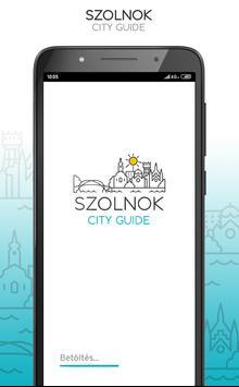 Szolnok City Guide poster