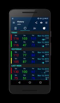 Blood Pressure screenshot 1