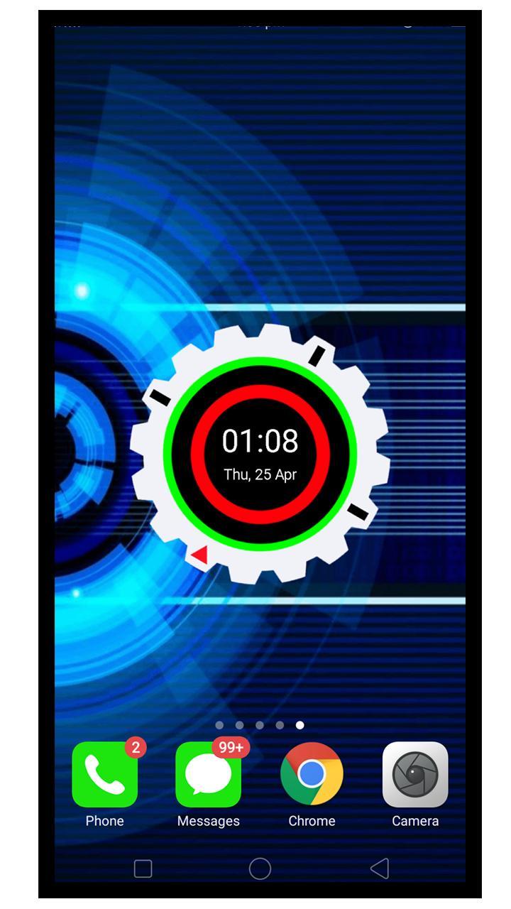 Android 用の デジタル 夜 クロック 黒 壁紙 Hd Apk をダウンロード