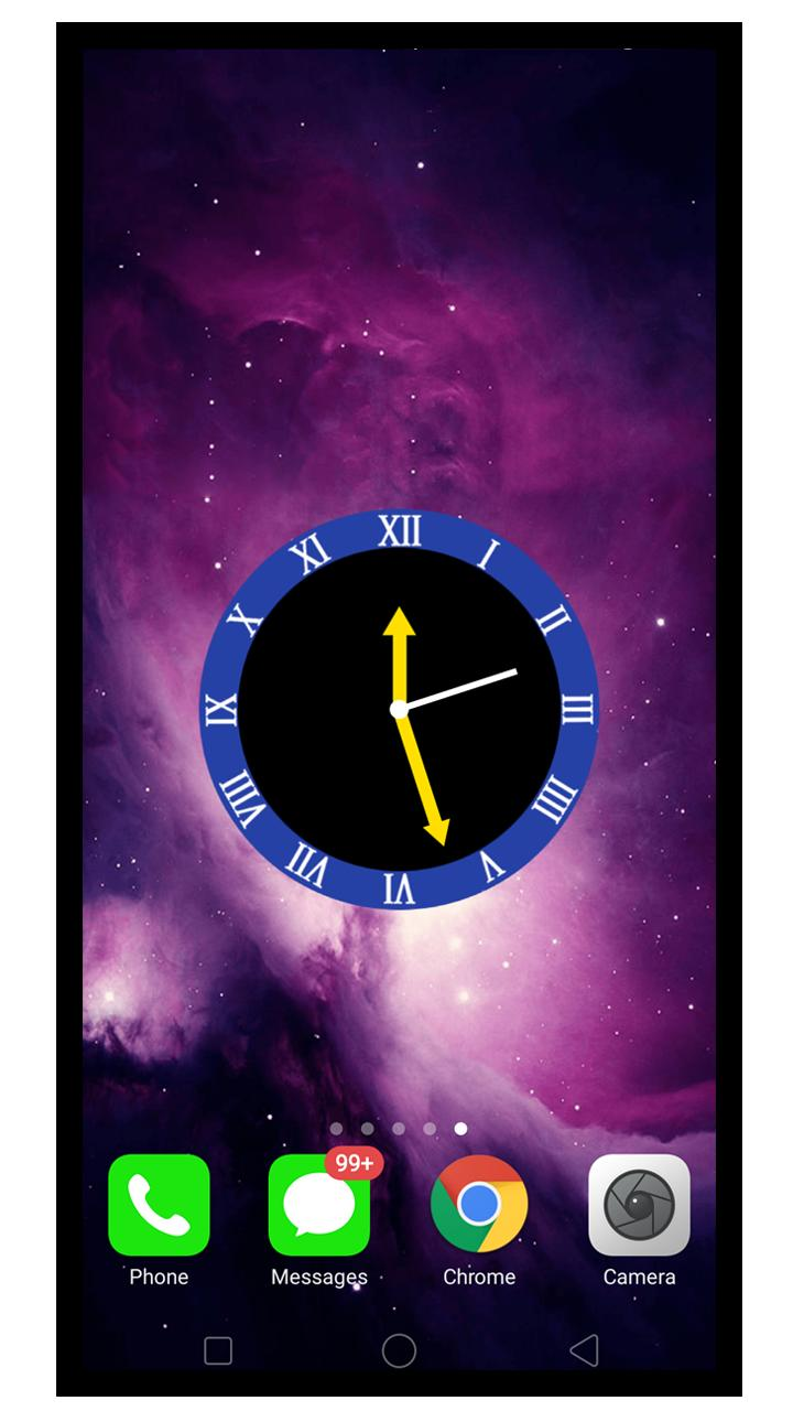 Night Smart Watch Galaxy Wallpaper Clock For Android Apk