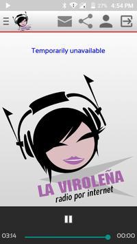 Viroleña Radio poster