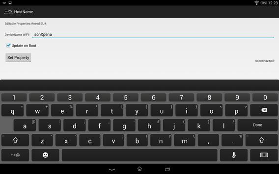 Change HostName WiFi Pro screenshot 2