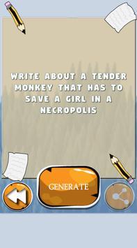 Writing Prompt Generator screenshot 1