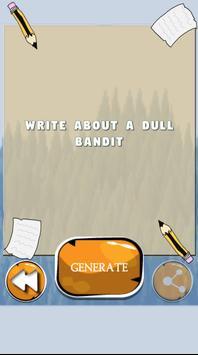 Writing Prompt Generator screenshot 3