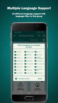 Groupzing :group links for whatsapp :meet people screenshot 2