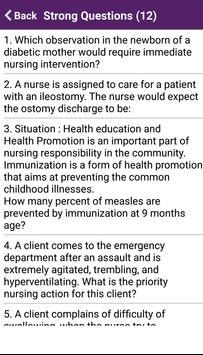 Nursing Quiz 10000+ Questions screenshot 7