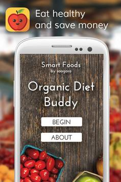 5 Schermata Smart Foods Organic Diet Buddy