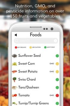 Smart Foods Organic Diet Buddy screenshot 1