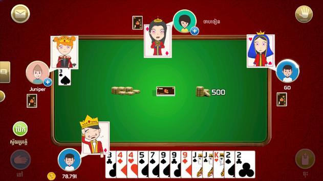 King of Cards Khmer Ekran Görüntüsü 2