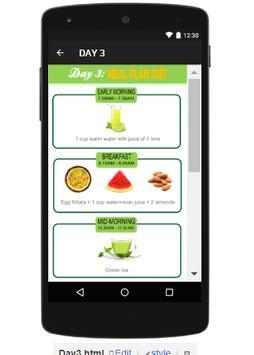 3 DAYS TUNA DIET screenshot 3