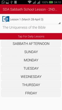 SDA Sabbath School Lesson - 4TH Quarter 2020 screenshot 1