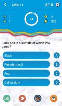 Seejo:Infinity quiz screenshot 2