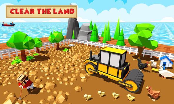 3 Schermata Blocky Farm Worker