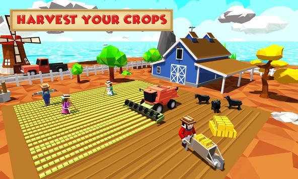 Blocky Farm Worker screenshot 1