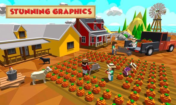 Blocky Farm Worker screenshot 2
