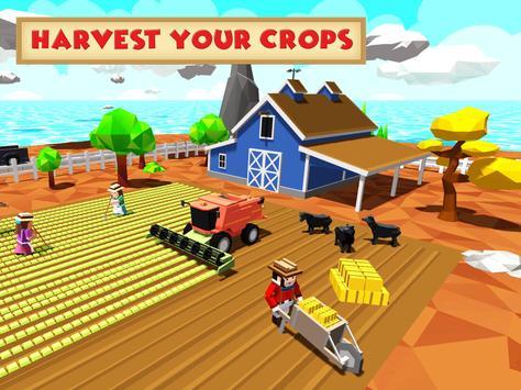 5 Schermata Blocky Farm Worker