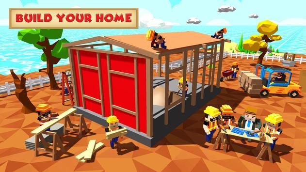 8 Schermata Blocky Farm Worker