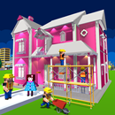Doll House Design & Decoration : Girls House Games APK