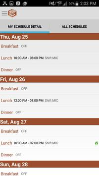 SmartLynX ScheduleIn screenshot 1