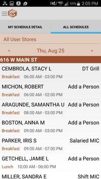 SmartLynX ScheduleIn screenshot 2