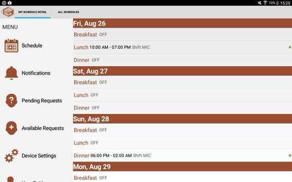 SmartLynX ScheduleIn screenshot 4
