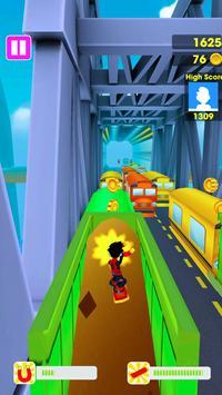 Train surf 3D : Subway Game screenshot 2