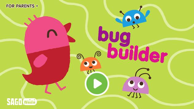 Sago Mini Bug Builder постер