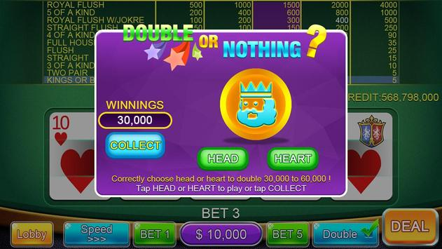 Casino Video Poker screenshot 3