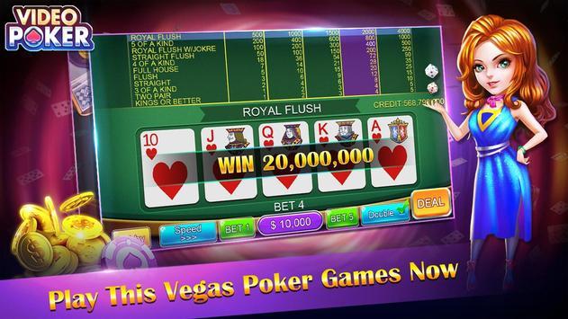 Casino Video Poker poster