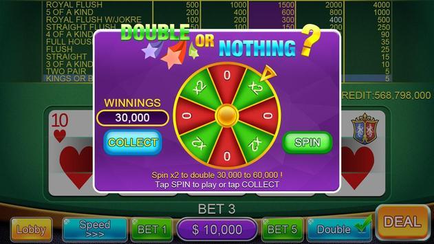 Casino Video Poker screenshot 10