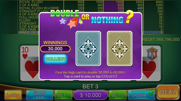 Casino Video Poker screenshot 17
