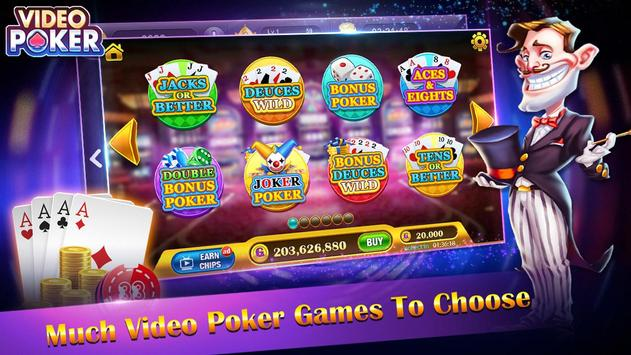 Casino Video Poker screenshot 1