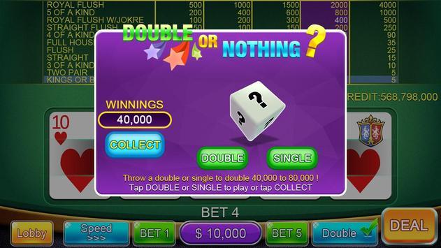 Casino Video Poker screenshot 2