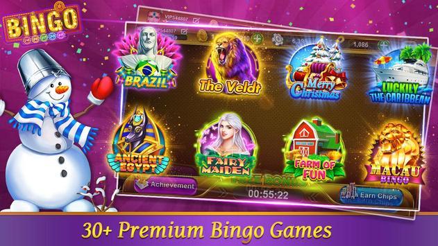 Bingo Happy Hd : Casino Bingo Games Free & Offline poster