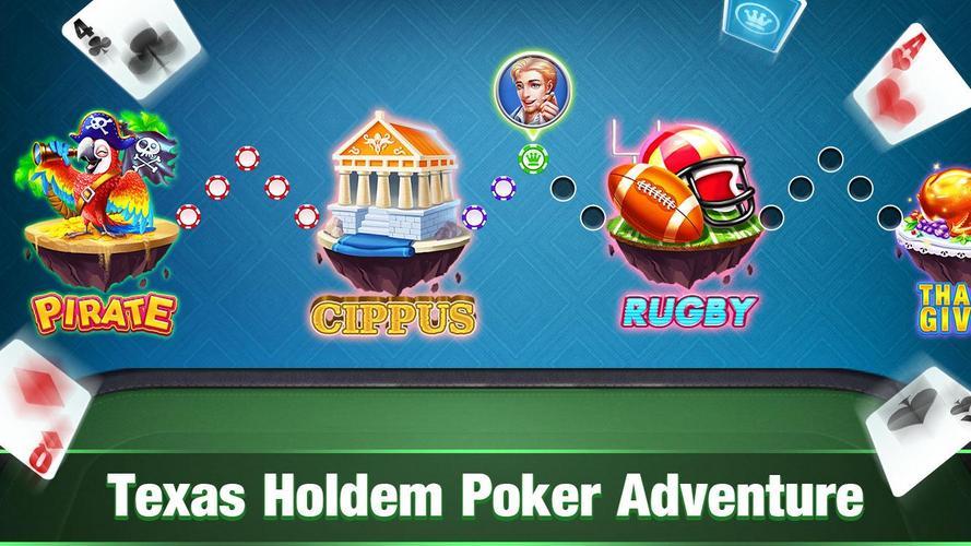 Texas Holdem Poker Offline Free Texas Poker Games Apk 1 5 2