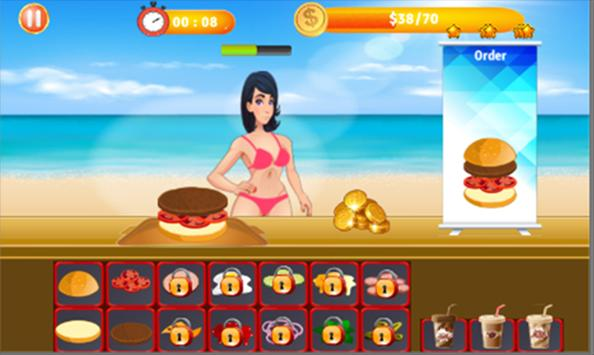 Fast Burger screenshot 1