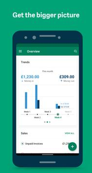 Sage - Accounting : Cloud invoice + expenses App 截圖 2