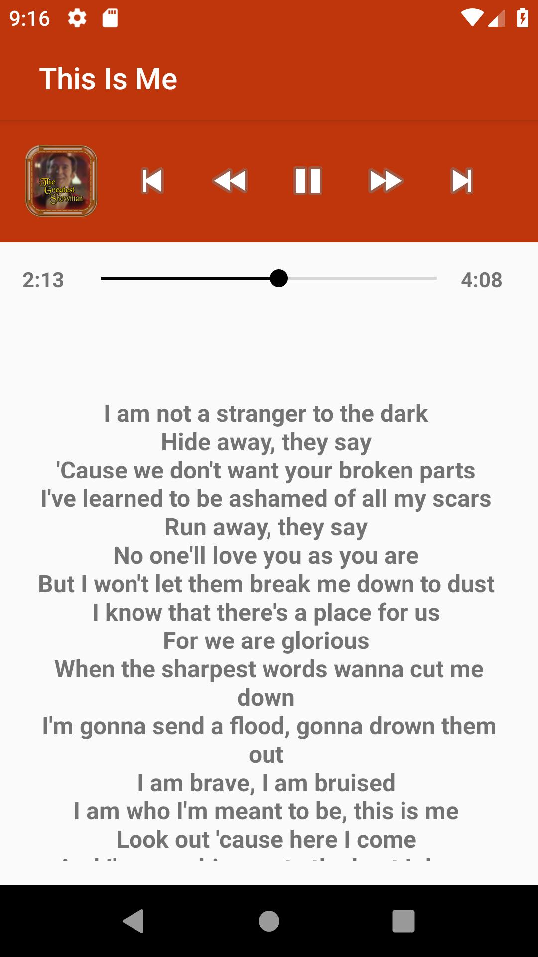 The Greatest Showman Songs Lyrics for Android - APK Download