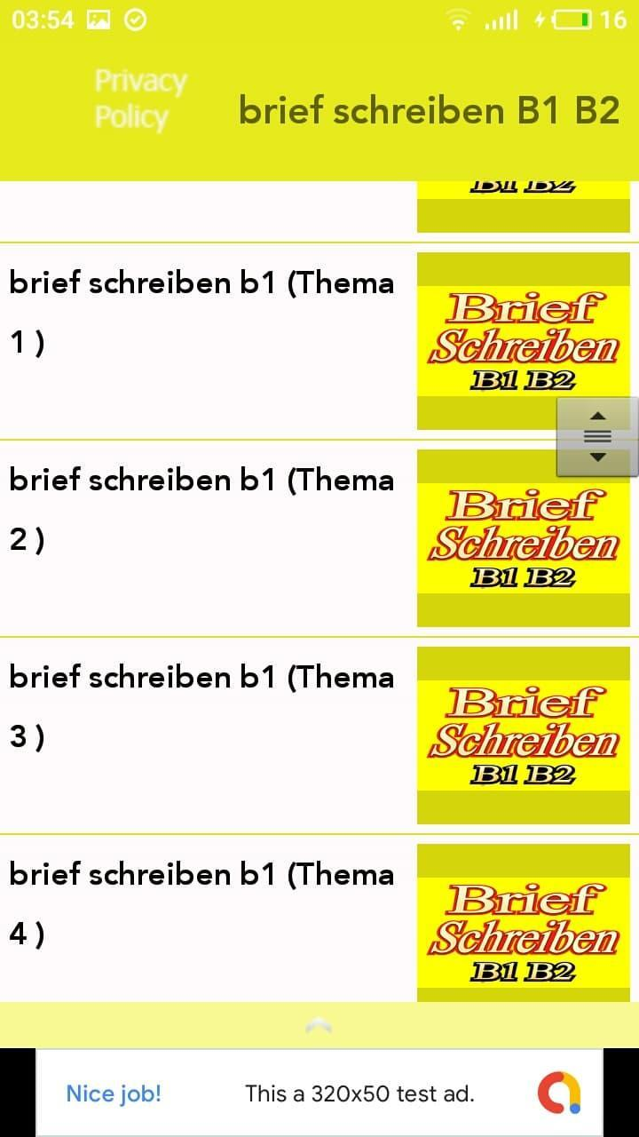 Brief Schreiben B1 B2 For Android Apk Download