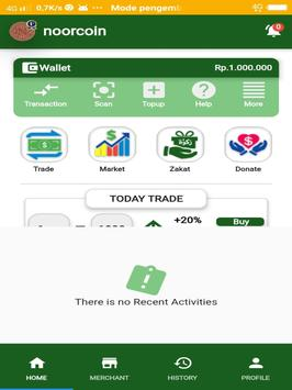 First Noorcoin screenshot 2