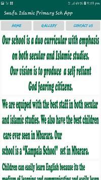 Swafa Islamic School Mbarara screenshot 3