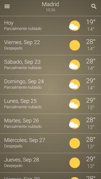 Tiempo España captura de pantalla 7