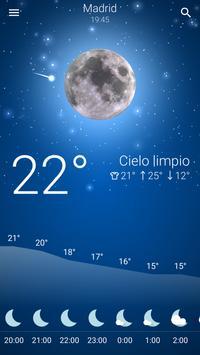 Tiempo España captura de pantalla 1