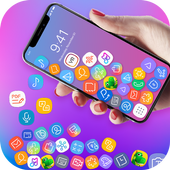 3D Rolling Icon Launcher icon