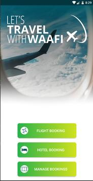 WAAFI Travel poster