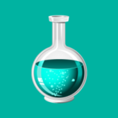 Chemistry solution calculator icon