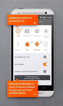 Secure messenger SafeUM captura de pantalla 6