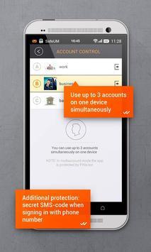 Secure messenger SafeUM captura de pantalla 7