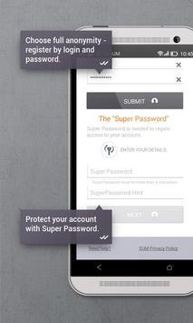 Secure messenger SafeUM captura de pantalla 2